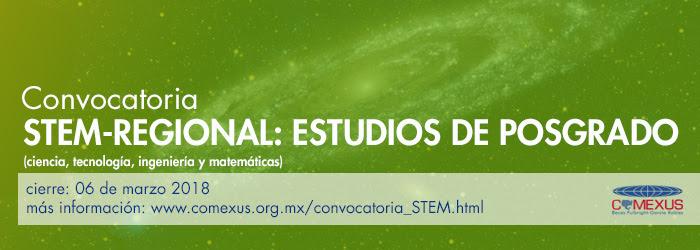 STEM Regional: Estudios de Posgrado